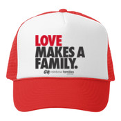 Tuckers cap 'LOVE MAKES A FAMILY'